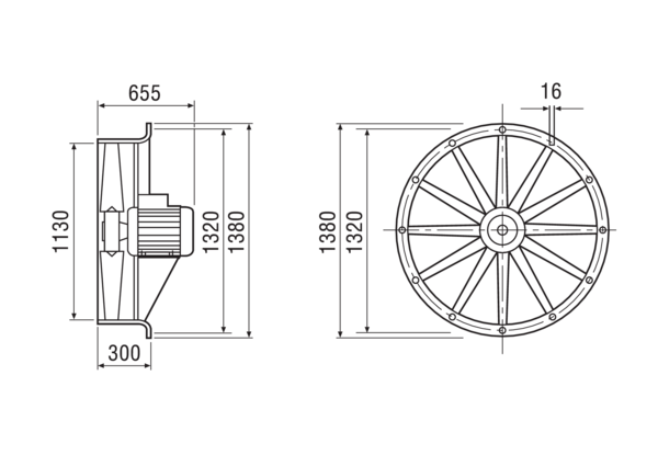 DAS 112/6 IM0001810.PNG Axial fan, DN 1120, 3-phase current