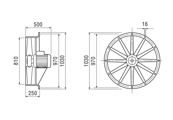 DAS 80/6 IM0007771.PNG Axial fan, DN 800, 3-phase current