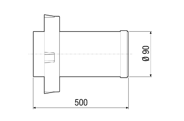 PPB 30 VS IM0018232.PNG Extension of the internal fluid channel as optional accessory for the PPB 30 K and PPB 30 O final assembly kits in conjunction with the long PP 45 RHL shell sleeve