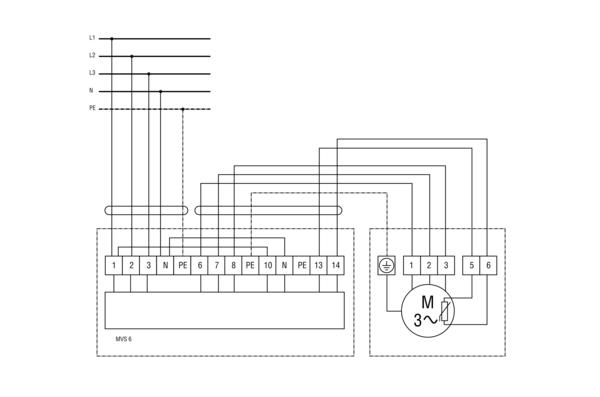 ptc thermistor triggering device mvs 6