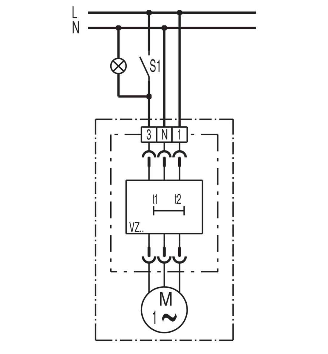 Maico Ventilatoreinsatz ER 60 VZ 62 m3//h mit Verzögerungszeitschalter 0084.0101
