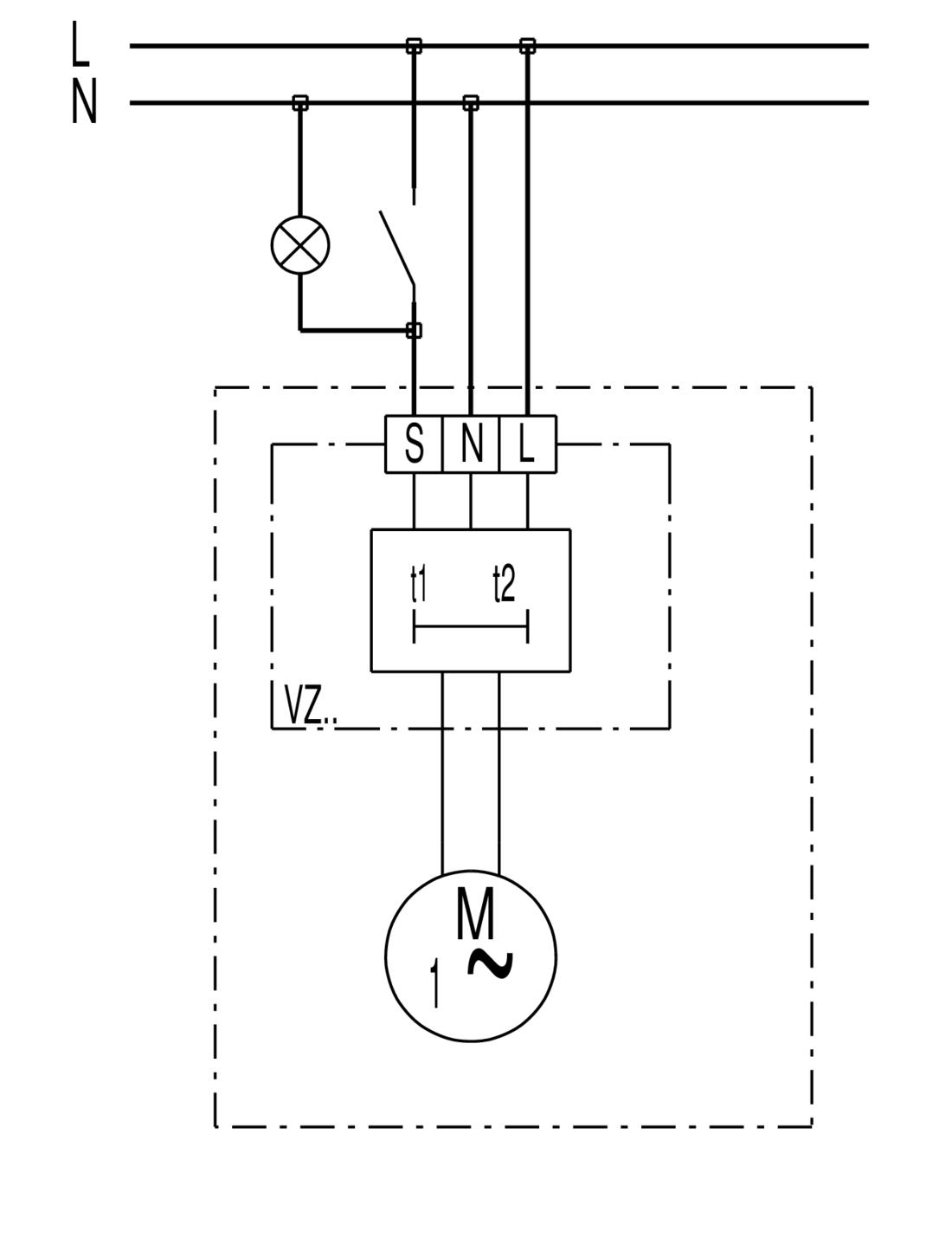 ... ECA 100 VZ Wiring diagram s