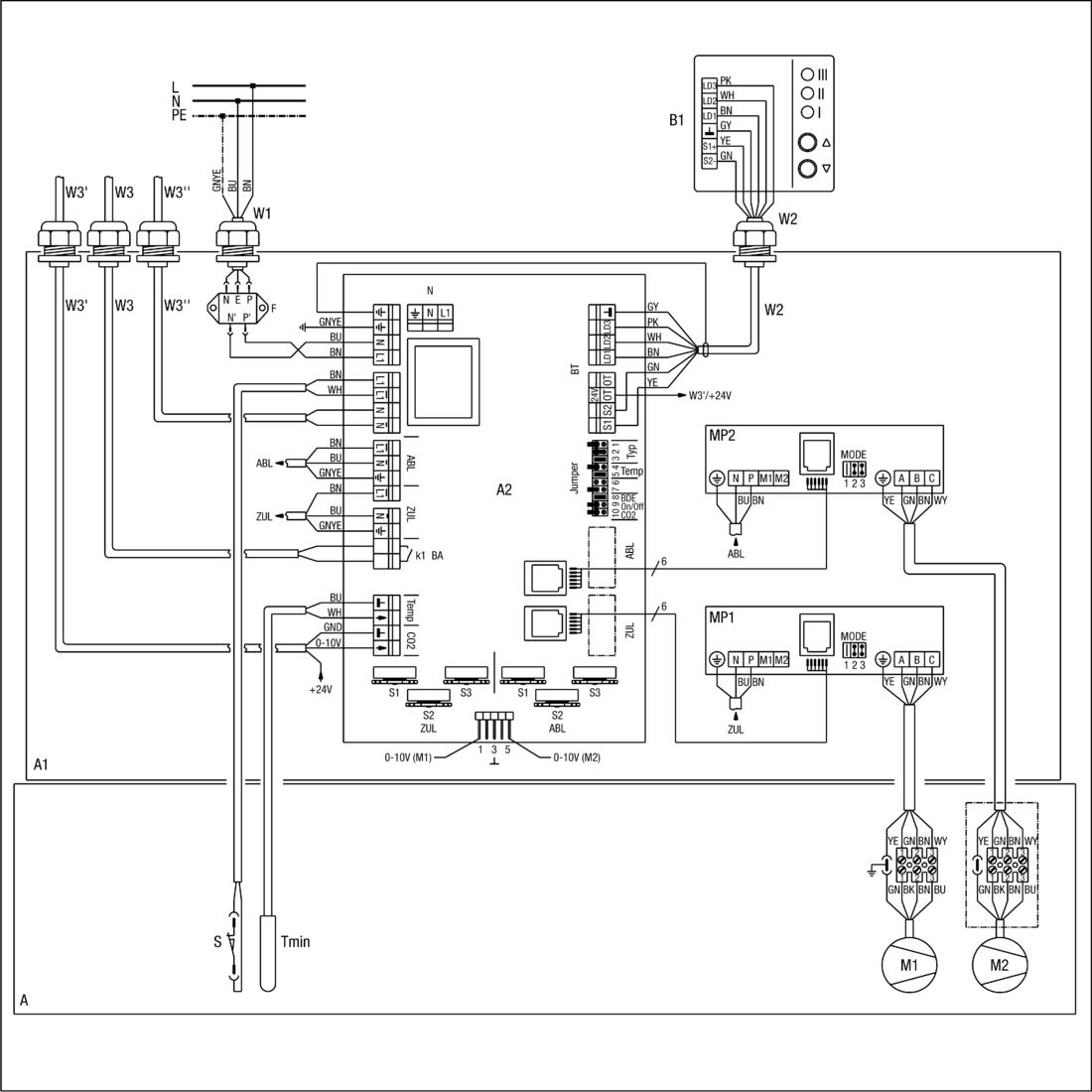 centralised ventilation unit wr 600