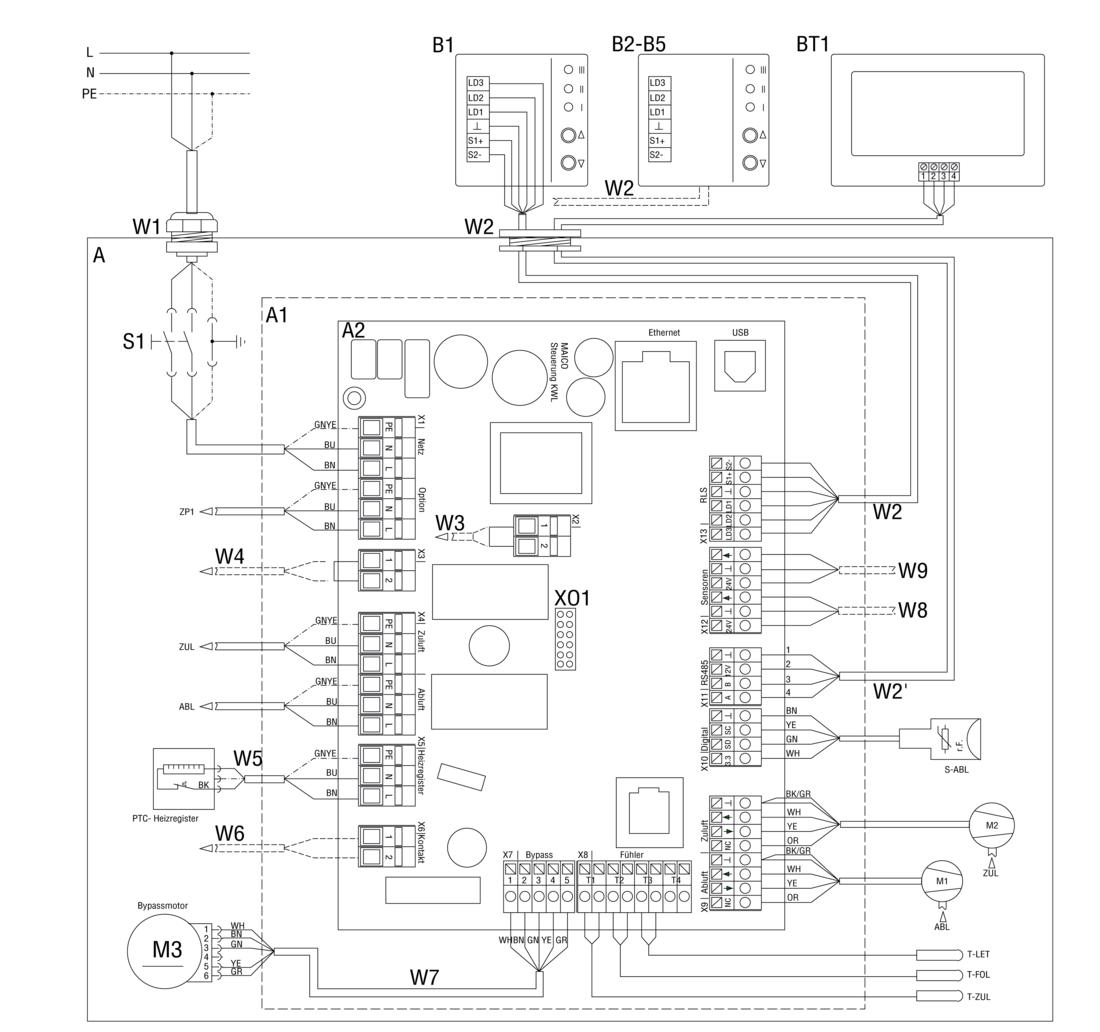 maico wiring diagram