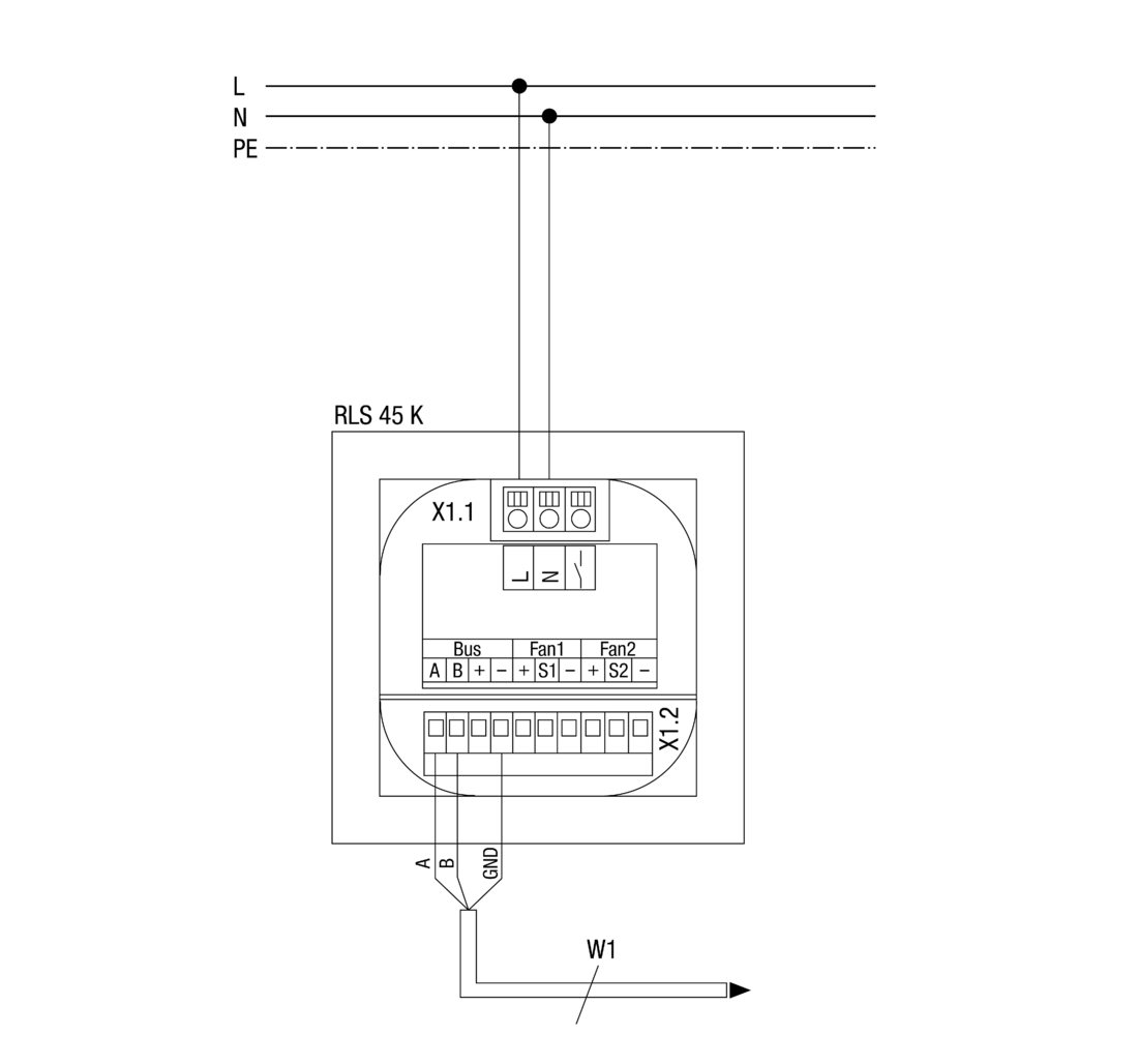 Room air control RLS 45 K | MAICO